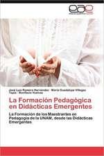 La Formacion Pedagogica En Didacticas Emergentes:  El Alma de La Literatura