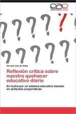 Reflexion Critica Sobre Nuestro Quehacer Educativo Diario:  El Caso del Tequila