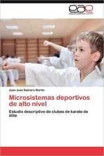 Microsistemas Deportivos de Alto Nivel:  El Caso de Montevideo