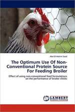 The Optimum Use Of Non-Conventional Protein Source For Feeding Broiler