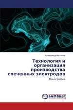 Tekhnologiya i organizatsiya proizvodstva spechennykh elektrodov