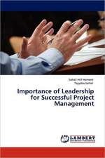 Importance of Leadership for Successful Project Management