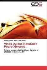 Vinos Dulces Naturales Pedro Ximenez