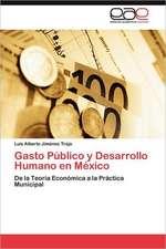 Gasto Publico y Desarrollo Humano En Mexico:  Mejora de Sistemas de Calidad En El Servicio Deportivo
