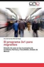 El Programa 3x1 Para Migrantes:  La Familia