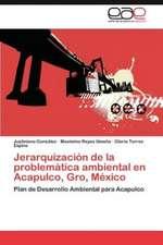 Jerarquizacion de La Problematica Ambiental En Acapulco, Gro, Mexico:  Efectos Sobre La Respuesta de Succion