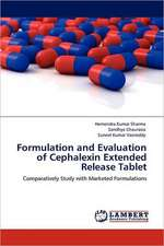 Formulation and Evaluation of Cephalexin Extended Release Tablet