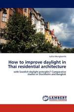 How to improve daylight in Thai residential architecture