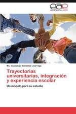Trayectorias Universitarias, Integracion y Experiencia Escolar:  Trazados Cefalometricos