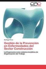 Gestion de La Prevencion En Enfermedades del Sector Construccion:  La Violencia Contra La Mujer