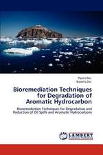 Bioremediation Techniques for Degradation of Aromatic Hydrocarbon