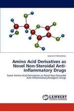 Amino Acid Derivatives as Novel Non-Steroidal Anti-Inflammatory Drugs