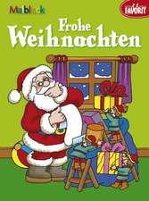 Frohe Weihnachten - Malbuch