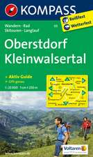 Oberstdorf - Kleinwalsertal 1 : 25 000