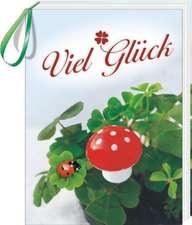 Geschenkbuch zum  Anhängen - Viel Glück