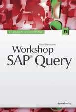 Workshop SAP® Query