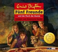 Fünf Freunde 50 und der Fluch der Mumie. 2 CDs