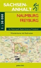 Wanderkarte Naumburg, Freyburg 1:30.000