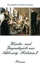 Kinder- und Jugendspiele aus Schleswig-Holstein 1