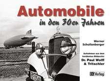 Automobile in den 30er Jahren
