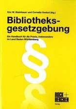Bibliotheksgesetzgebung