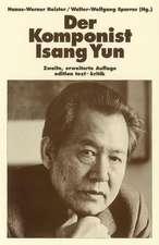 Der Komponist Isang Yun