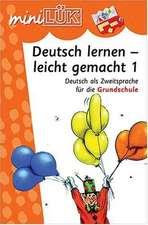 miniLÜK. Deutsch lernen - leicht gemacht 1