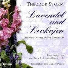 Lavendel und Levkojen