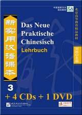 Das Neue Praktische Chinesisch - Set aus Lehrbuch 3 und 4 CDs und 1 DVD