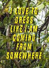 I Love to Dress Like I Am Coming from Somewhere:  Die Wandlungen