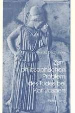 Zum Philosophischen Problem Des Todes Bei Karl Jaspers
