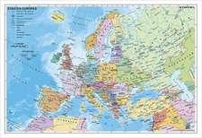 Staaten Europas, politisch 1 : 7 500 000. Wandkarte Kleinformat ohne Metallstäbe