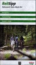 Reittipp Naturpark Hohe Mark Ost 1 : 20 000