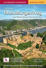 Rheinburgenweg mit Rheinsteig-Rundtouren Schöneres Wandern Pocket mit herausnehmbarer Übersichtsfaltkarte