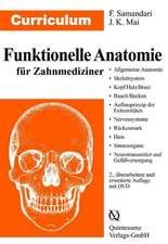 Curriculum - Funktionelle Anatomie für Zahnmediziner