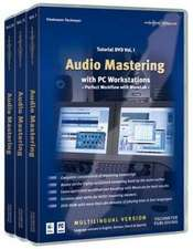 Audio Mastering Tutorial DVD I - III