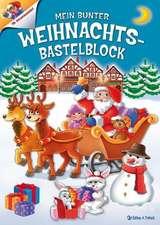Weihnachts-Bastelblock