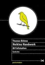 Heikles Handwerk