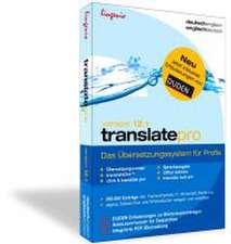 translate pro 12.1 Deutsch-Englisch