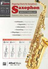 Grifftabelle Saxophon | Fingering Charts Saxophone