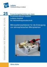 Mikrowellenoszillatoren für die Erzeugung von atmosphärischen Mikroplasmen