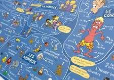 mindmemo Lernfolder - Les premiers pas - Französisch für Einsteiger - Vokabeln lernen mit Bildern - Zusammenfassung