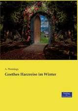 Goethes Harzreise im Winter