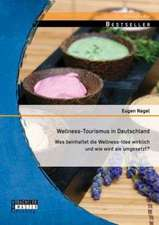 Wellness-Tourismus in Deutschland:  Was Beinhaltet Die Wellness-Idee Wirklich Und Wie Wird Sie Umgesetzt?