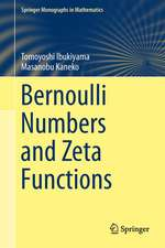 Bernoulli Numbers and Zeta Functions