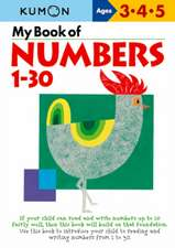 My Book of Numbers, 1-30: Copii 3-5 ani