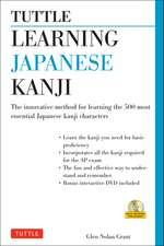 Tuttle Learning Japanese Kanji: (JLPT Levels N5 & N4) The Innovative Method for Learning the 500 Most Essential Japanese Kanji Characters (With CD-ROM)