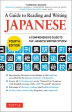 A Guide to Reading and Writing Japanese  : Fourth Edition, JLPT All Levels (2,136 Japanese Kanji Characters)