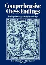 Comprehensive Chess Endings Volume 1 Bishop Endings Knight Endings