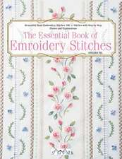 Essential Book of Embroidery Stitches